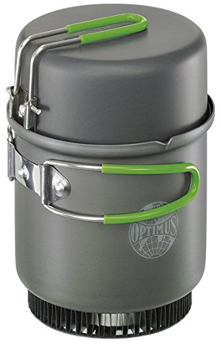 Optimus Kocher Crux mit Terra Weekend HE Kochset, 0.95 L